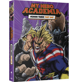 Funimation Entertainment My Hero Academia Season 3 Part 1 DVD