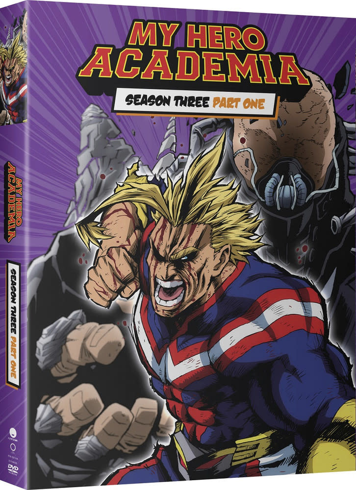 Funimation Entertainment My Hero Academia Season 3 Part 1 DVD