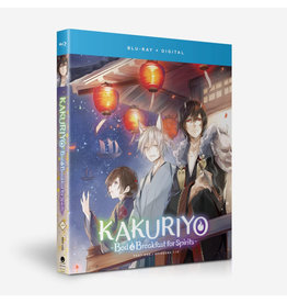 Funimation Entertainment Kakuriyo Bed & Breakfast For Spirits S1 Part 1 Blu-Ray