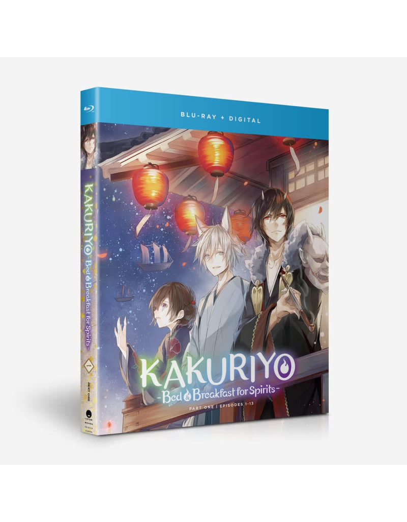 Funimation Entertainment Kakuriyo Bed & Breakfast For Spirits S1 Part 1 Blu-Ray*
