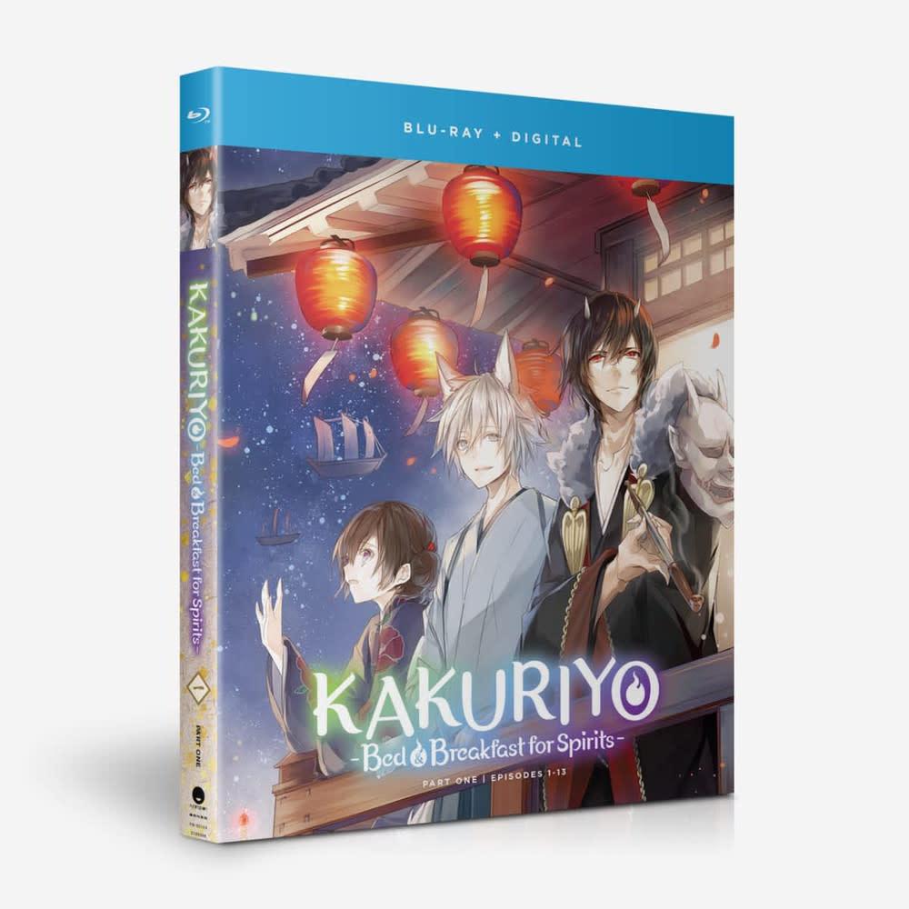 Funimation Entertainment Kakuriyo Bed & Breakfast For Spirits S1 Part 1 Blu-Ray
