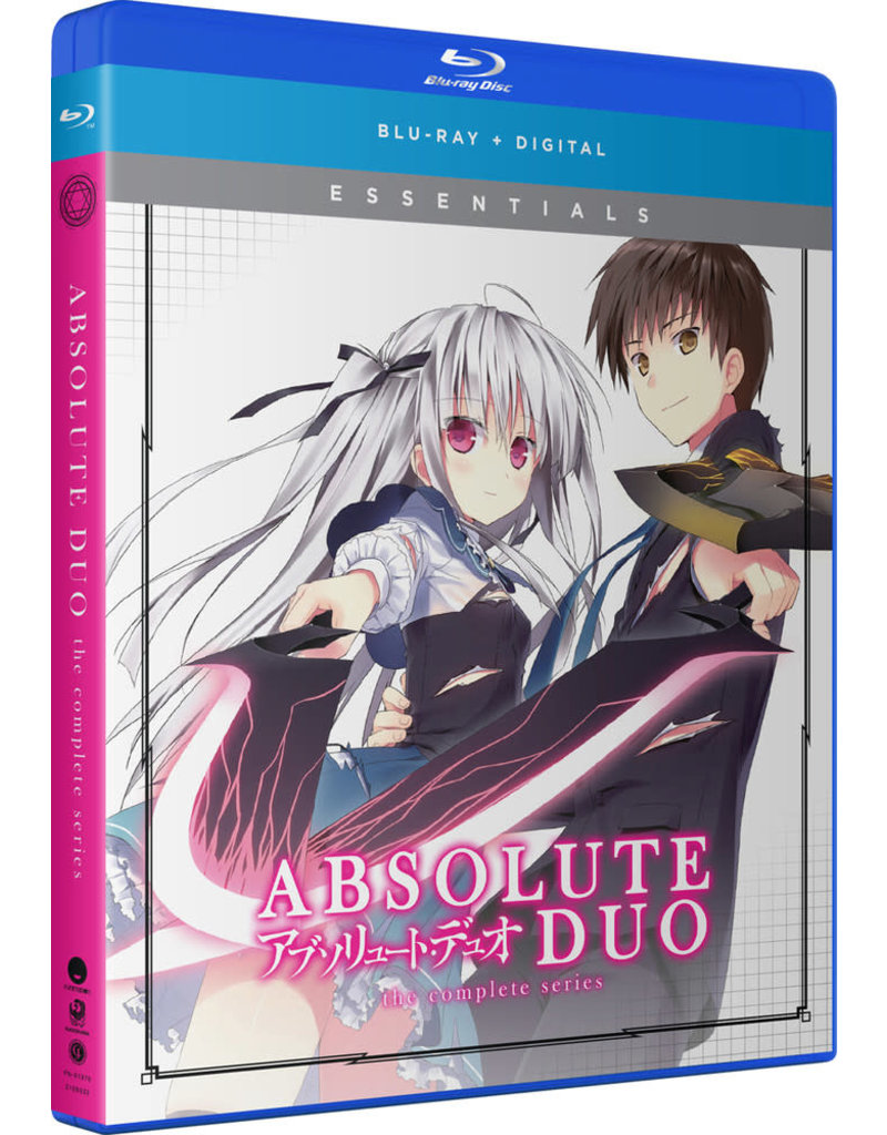 Funimation Entertainment Absolute Duo Essentials Blu-Ray