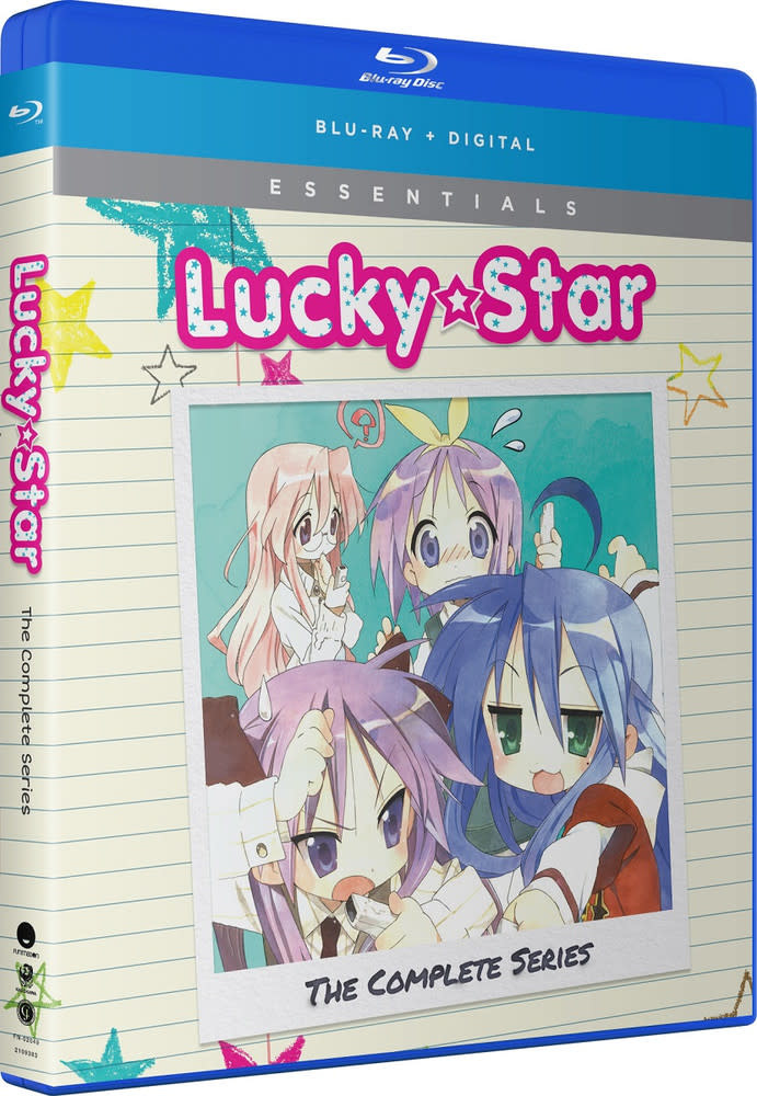 Funimation Entertainment Lucky Star Complete Series + OVA Essentials Blu-Ray