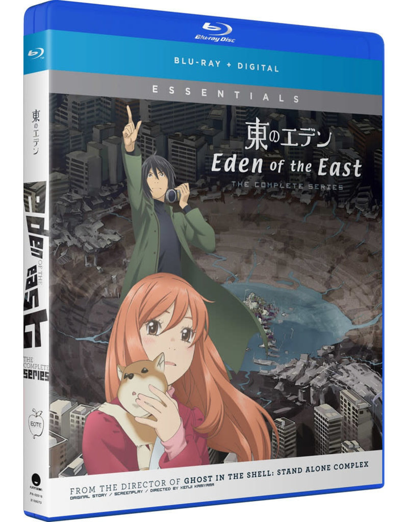 Funimation Entertainment Eden of the East Complete Series Essentials Blu-Ray