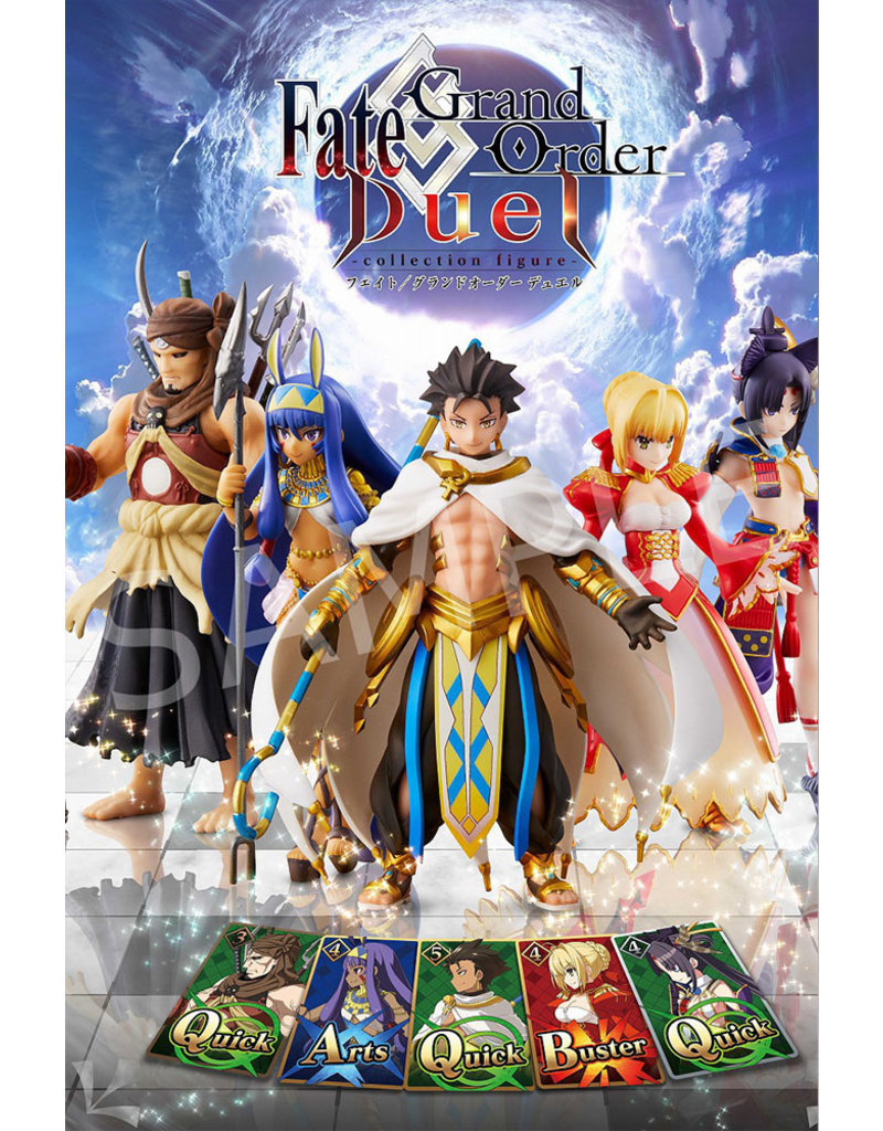 Aniplex of America Inc Fate Grand Order Duel Collection Figures Vol. 4