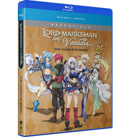 Funimation Entertainment Lord Marksman and Vanadis Essentials Blu-Ray