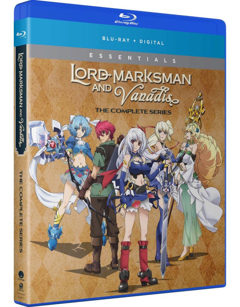 Funimation Entertainment Lord Marksman and Vanadis Essentials Blu-Ray