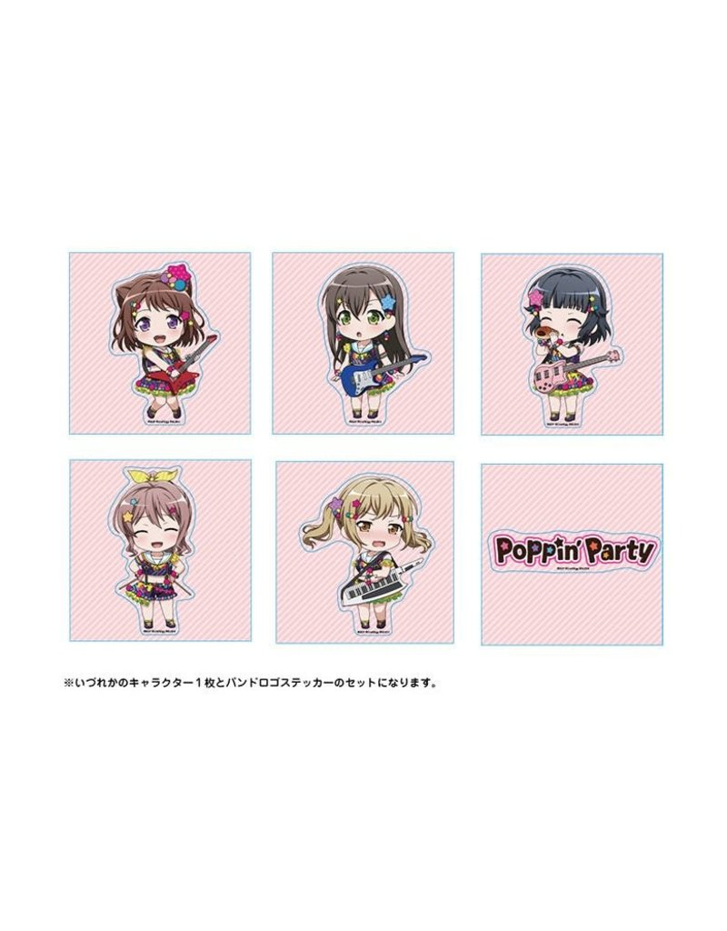 Bushiroad BanG Dream! Trading Stickers Poppin' Party