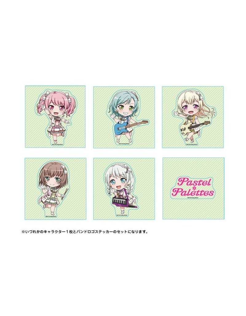 Bushiroad BanG Dream! Trading Stickers Pastel Palettes