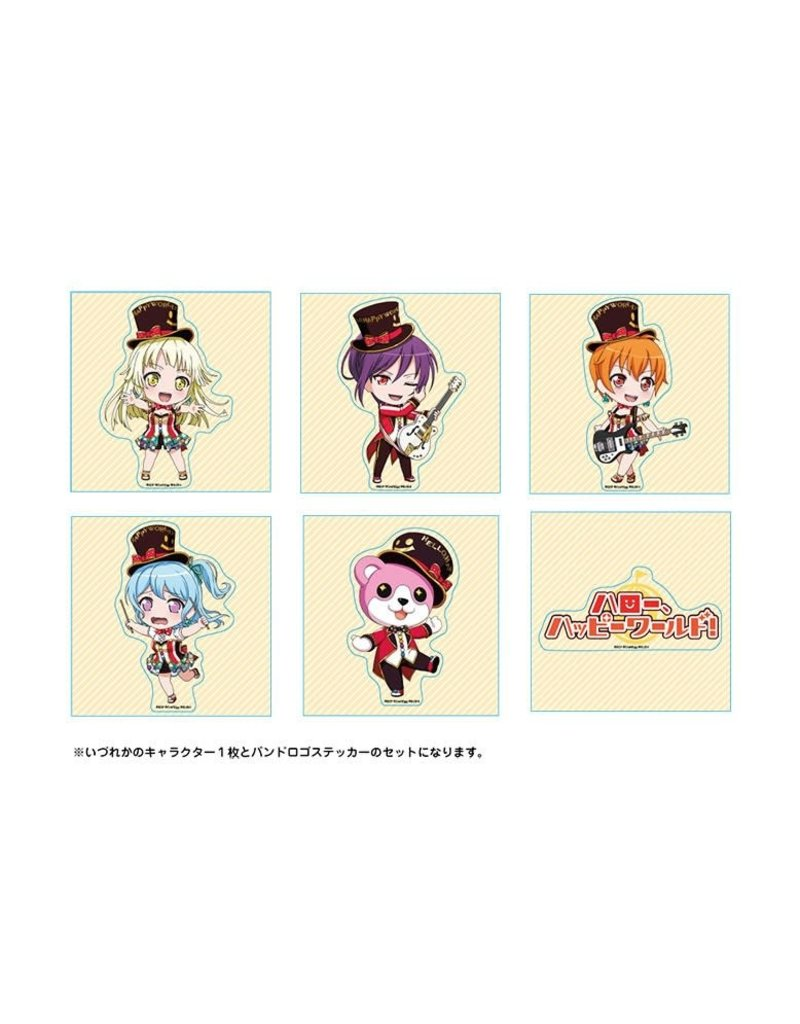 Bushiroad BanG Dream! Trading Stickers Hello Happy World