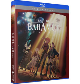 Funimation Entertainment Rage of Bahamut Genesis Essentials Blu-Ray