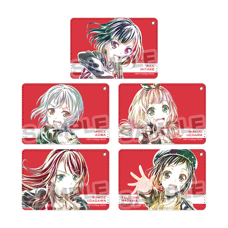 Bushiroad BanG Dream Ani-Art Pass Case Afterglow