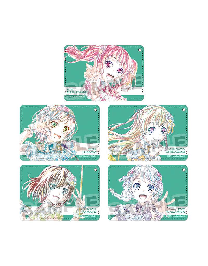 Bushiroad BanG Dream Ani-Art Pass Case Pastel Palettes