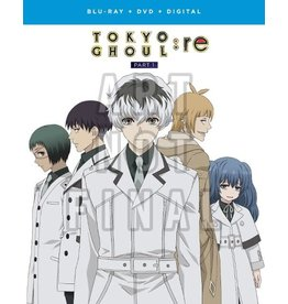 Funimation Entertainment Tokyo Ghoul: Re Part 1 Blu-Ray/DVD
