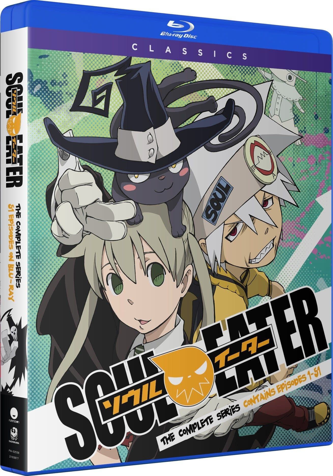 Funimation Entertainment Soul Eater Classics Blu-Ray