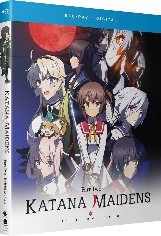 Funimation Entertainment Katana Maidens Toji No Miko Part 2 Blu-Ray