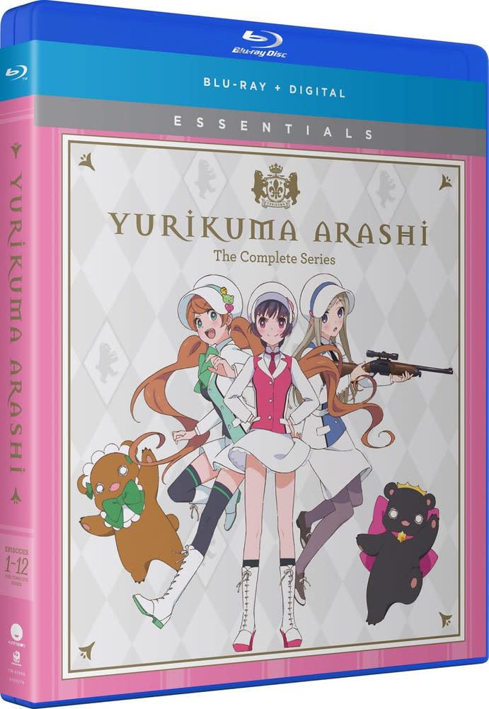 Funimation Entertainment Yurikuma Arashi Essentials Blu-Ray