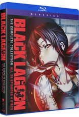 Funimation Entertainment Black Lagoon Complete Series Blu-Ray