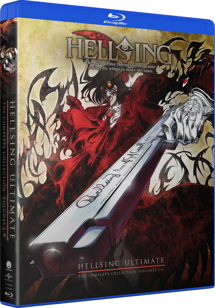 Funimation Entertainment Hellsing Ultimate OVA Blu-Ray