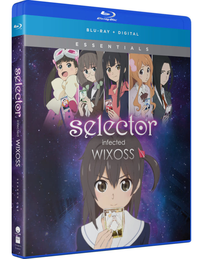 Funimation Entertainment Selector Infected Wixoss Essentials Blu-Ray