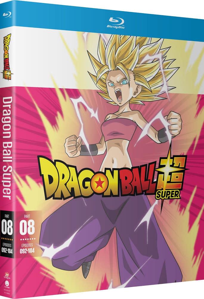 Funimation Entertainment Dragon Ball Super Part 8 Blu-Ray