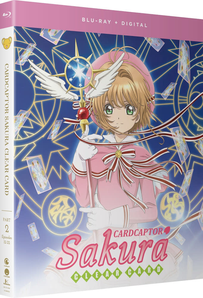 Funimation Entertainment Cardcaptor Sakura Clear Card Part 2 Blu-Ray/DVD
