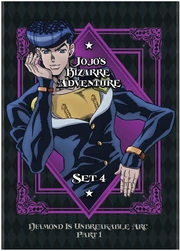 Viz Media Jojo's Bizarre Adventure Season 4 DVD