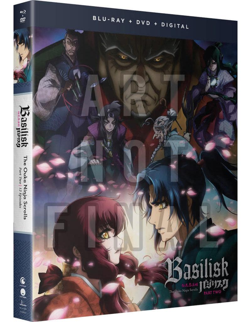 Funimation Entertainment Basilisk The Ouka Ninja Scrolls Part 2 Blu-Ray/DVD
