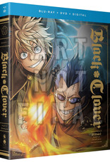 Funimation Entertainment Black Clover Season 1 Part 5 Blu-Ray/DVD w/ Artbook