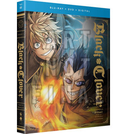 Funimation Entertainment Black Clover Season 1 Part 5 Blu-Ray/DVD
