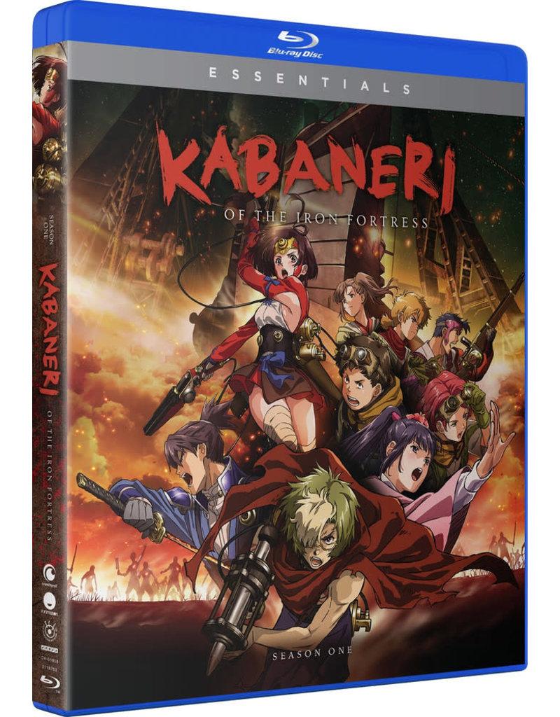 Funimation Entertainment Kabaneri of the Iron Fortress Season 1 Essentials Blu-Ray/DVD