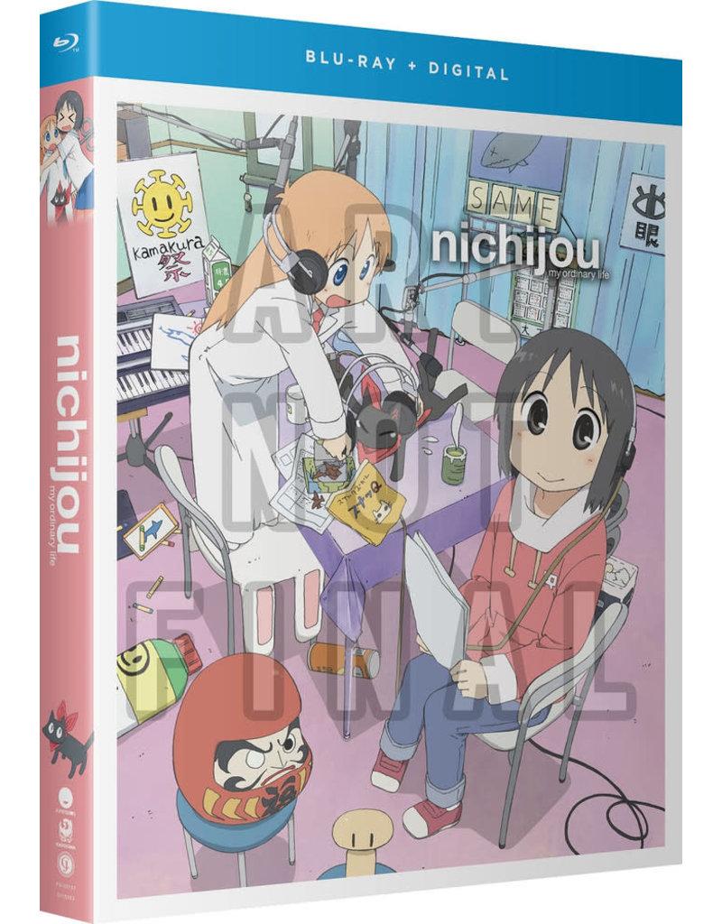 Funimation Entertainment Nichijou - My Ordinary Life Blu-Ray