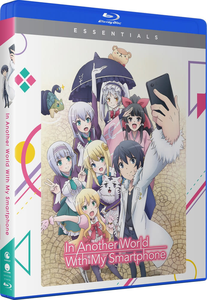 Funimation Entertainment In Another World With My Smartphone Essentials Blu-Ray
