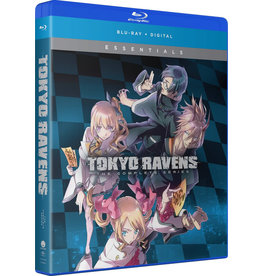 Funimation Entertainment Tokyo Ravens Complete Series Essentials Blu-Ray