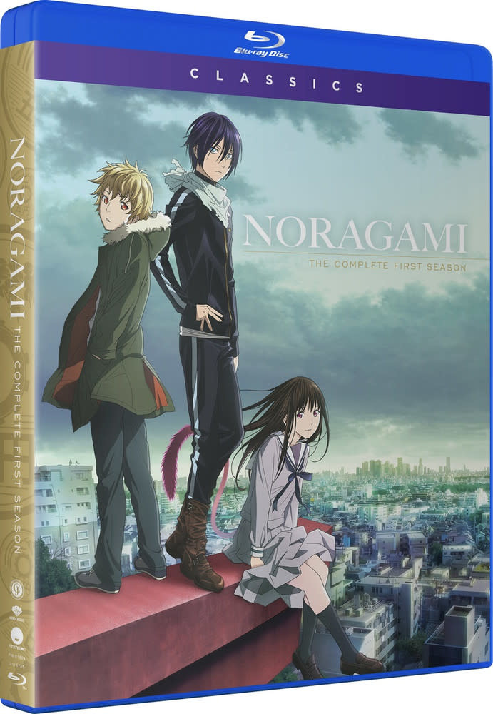 Funimation Entertainment Noragami Season 1 Classics Blu-Ray