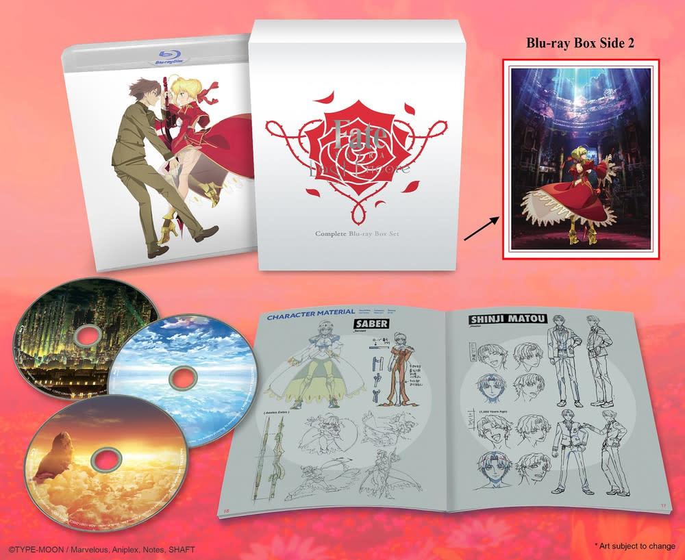Aniplex of America Inc Fate/EXTRA Last Encore Box Set Blu-Ray
