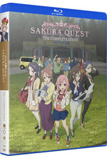 Funimation Entertainment Sakura Quest Complete Series Blu-Ray