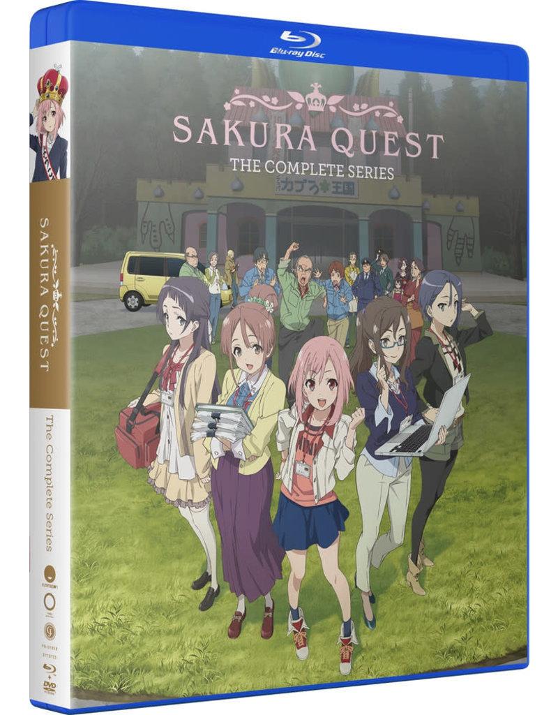 Funimation Entertainment Sakura Quest Complete Series Blu-Ray