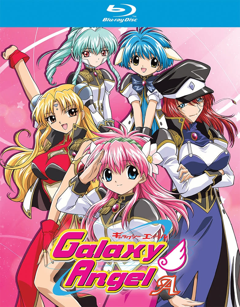 Nozomi Ent/Lucky Penny Galaxy Angel A Blu-Ray