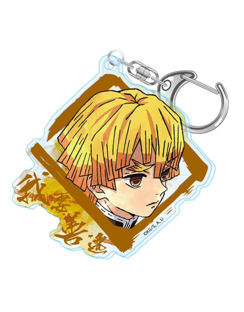 Demon Slayer Water Color Acrylic Keychain
