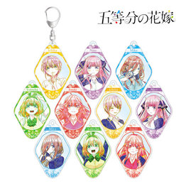 Amnibus Quintessential Quintuplets Trading Ani-Art Keychain