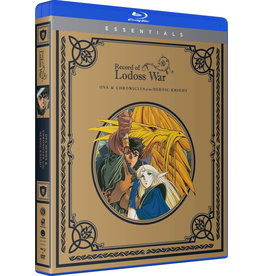 Funimation Entertainment Record Of The Lodoss War OVA + Chronicles Of A Heroic Knight Essentials Blu-Ray/DVD