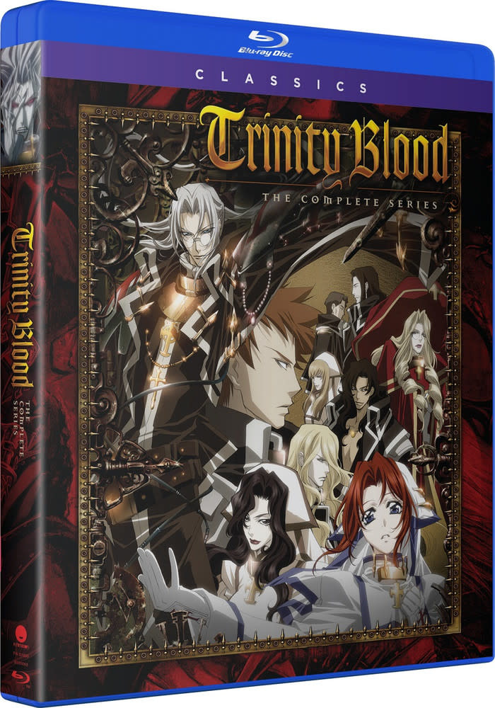 Funimation Entertainment Trinity Blood Complete Series Classics Blu-Ray