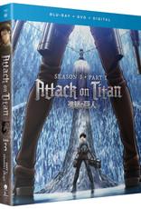Funimation Entertainment Attack On Titan Season 3 Part 1 Blu-Ray/DVD