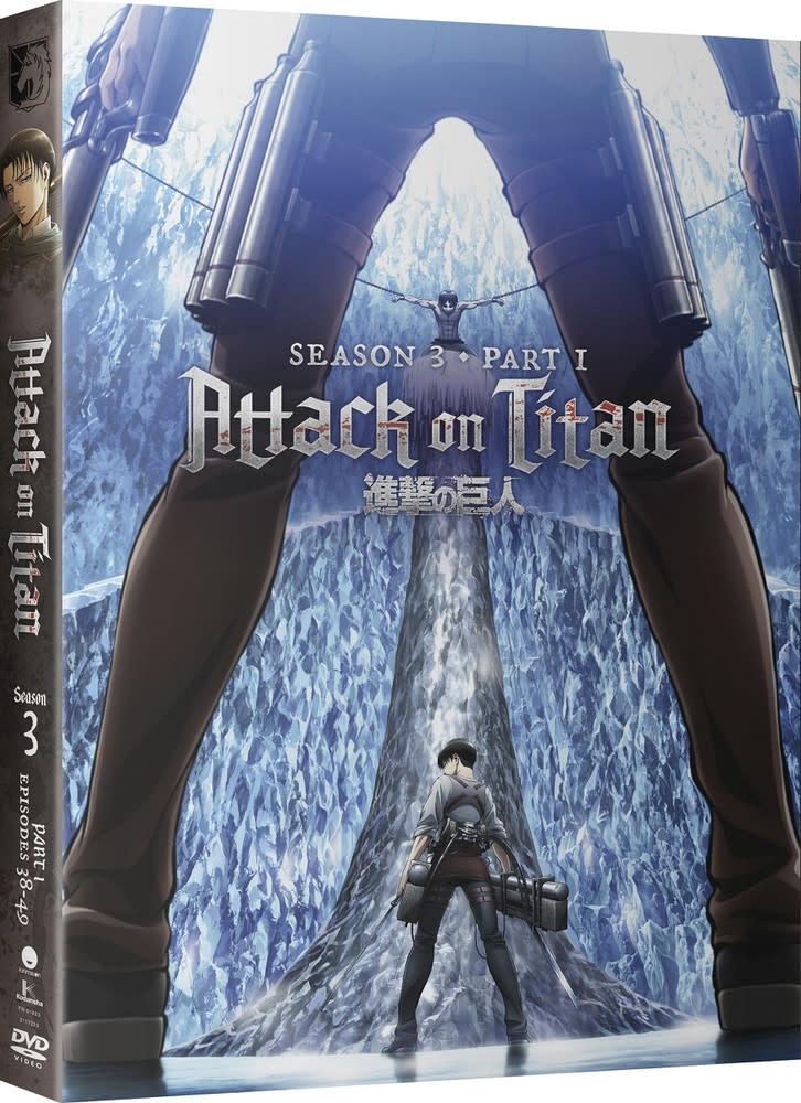 Funimation Entertainment Attack On Titan Season 3 Part 1 DVD