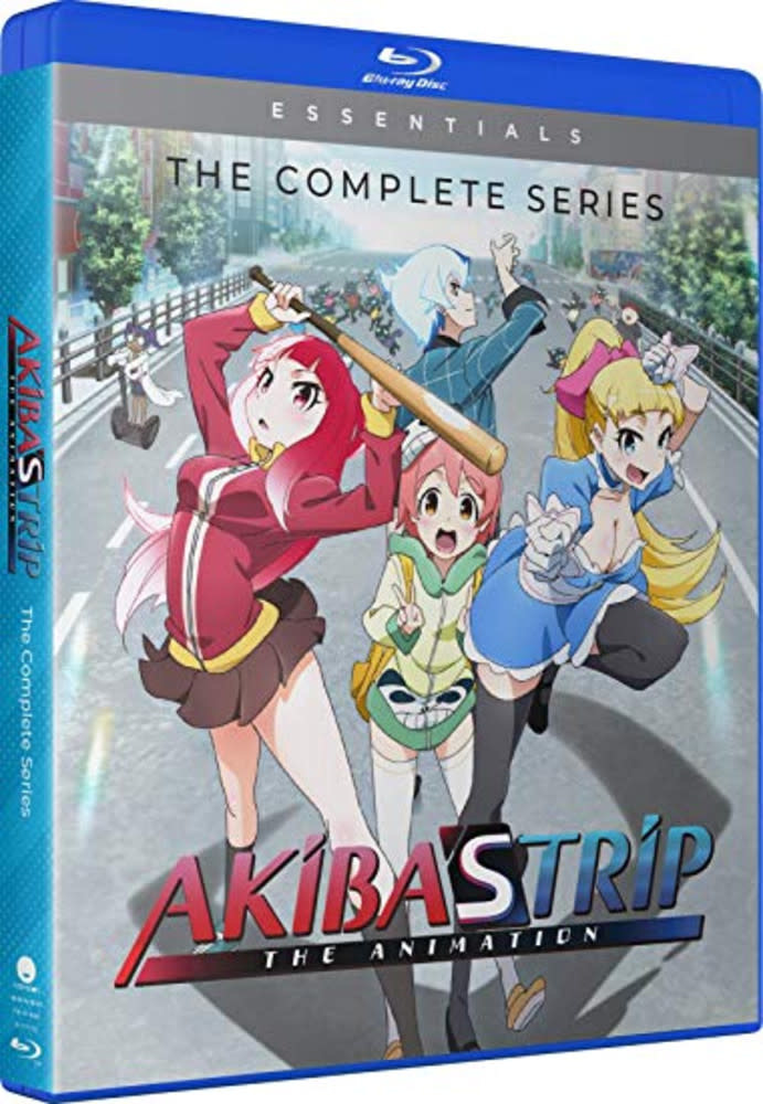Funimation Entertainment Akiba's Trip Essentials Blu-Ray