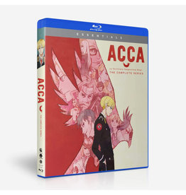 Funimation Entertainment ACCA 13 Territory Inspection Dept Essentials Blu-Ray