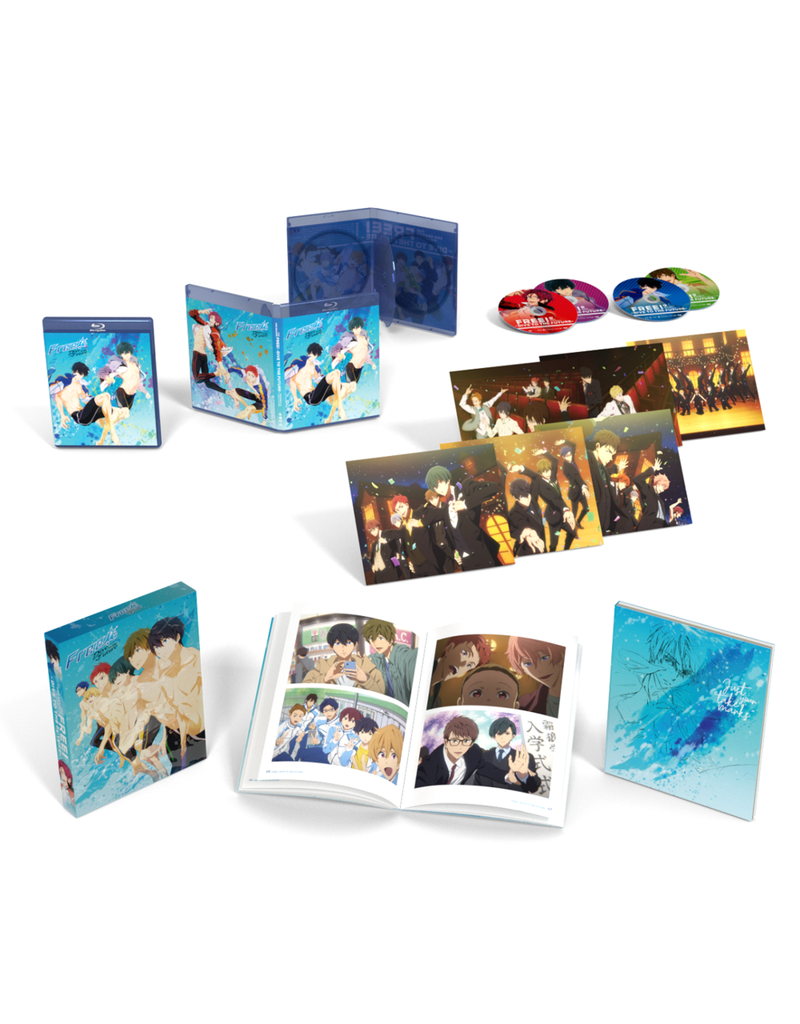 Funimation Entertainment Free! Dive To The Future Season 3 Limited Edition Blu-Ray/DVD*