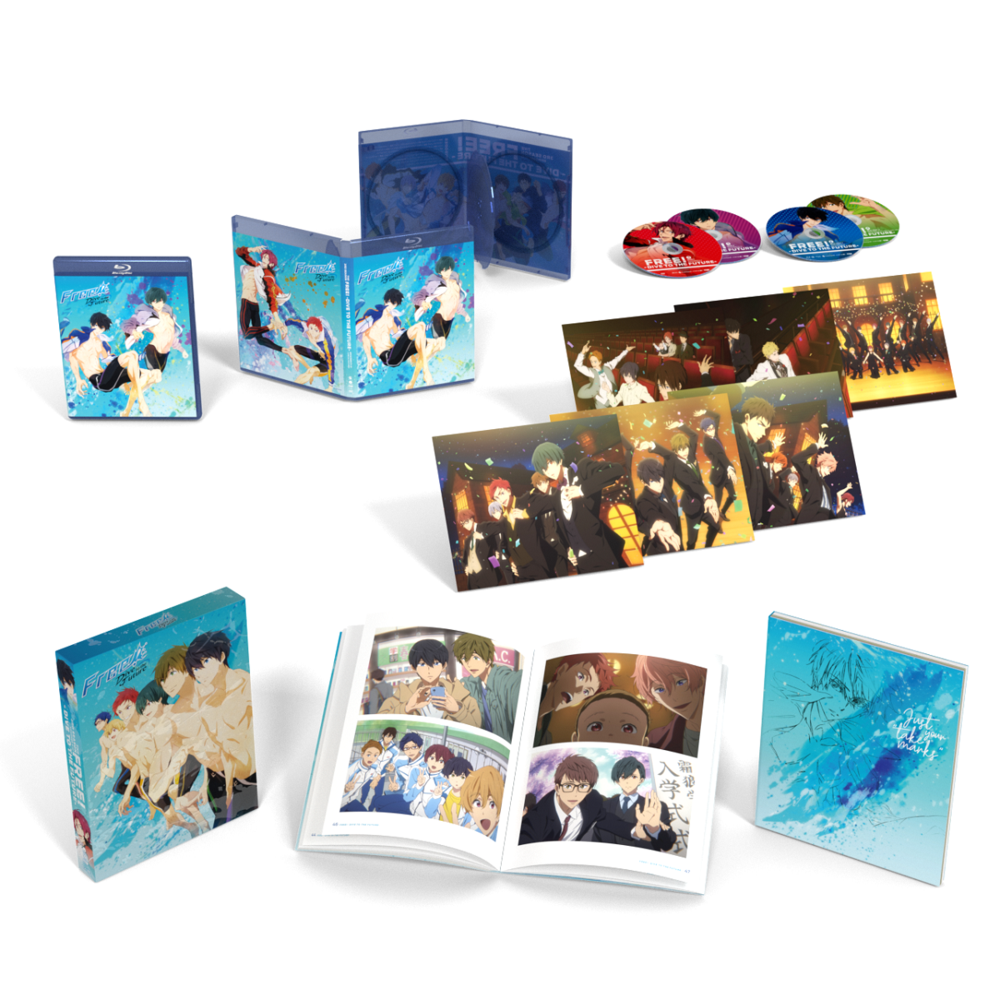 Funimation Entertainment Free! Dive To The Future Season 3 Limited Edition Blu-Ray/DVD