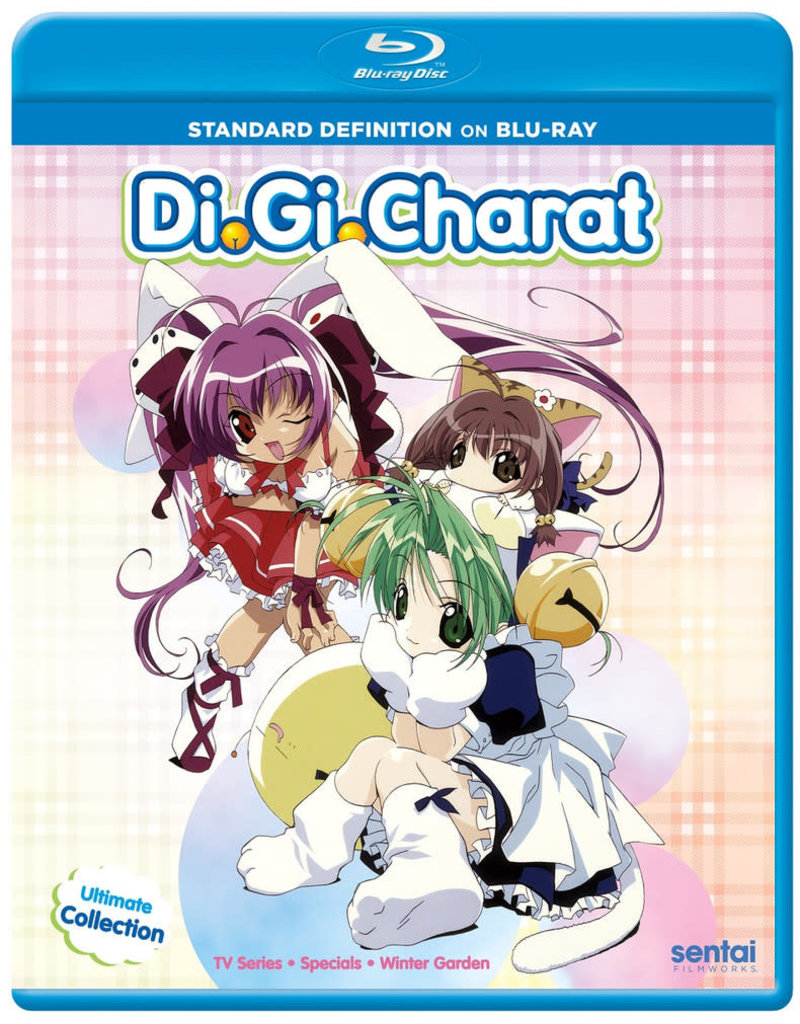 Sentai Filmworks Di Gi Charat Ultimate Collection Blu-Ray